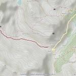 col du mont mappa itinerario