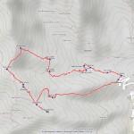 monte arzola mappa itinerario