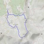 punta valletta pila mappa itinerario