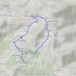 punta valnera mappa itinerario