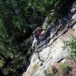 roccia liscia dopo il ponticello