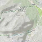 punta rossa della grivola mappa itinerario