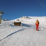 arrivo dello skilift