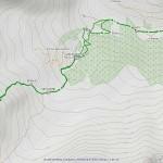 costa serena mappa itinerario