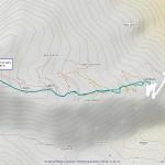 la cialma mappa itinerario