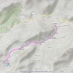lago vercoche mappa itinerario