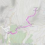 palon di resy mappa itinerario