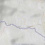 mont chenaille mappa itinerario