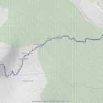 casotto pousset mappa itinerario