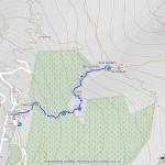 rif ferraro mappa itinerario