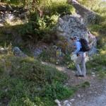 ripresa del sentiero dalla poderale