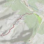 testa del gavio mappa itinerario