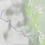 piccolo rothorn mappa itinerario