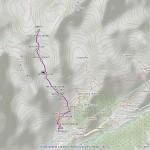 colle cretes seches mappa itinerario