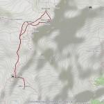 punta parrot mappa itinerario