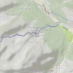 bivacco gratton mappa itinerario