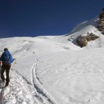 ghiacciaio del garstelet e piramide vincent