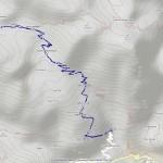 Lago inf di ciamousseretto mappa itinerario