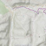 colle acque rosse mappa itinerario