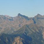 panorama da chavanne dal mont glacier a sin all'emilius a des