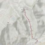 colle battaglione aosta mappa itinerario