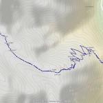 lago di andromia mappa itinerario