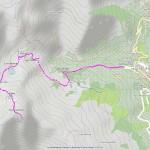 monte mucrone mappa itinerario
