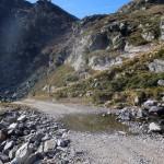 sentiero quota 1802 sotto la pista