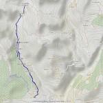 valchourda mappa itinerario