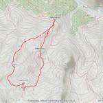 tour des lacs mappa itinerario