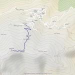 cima mares mappa itinerario