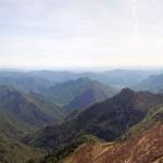 panorama sud con varallo e la pianura