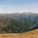 panorama verso rimella e dietro la vallestrona