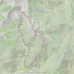 pizzo tracciora-massa ratei anello mappa itinerario