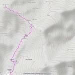 cima vallone mappa itinerario
