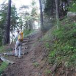 sentiero gradinato