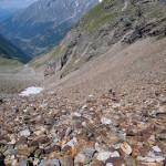 parte mediana della pietraia