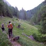 ingresso nel vallone di montagnaya