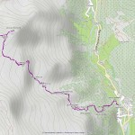 rothorn,piccolo rothorn mappa itinerario