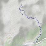 tour de la tsa mappa itinerario