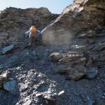 canale di rocce rotte