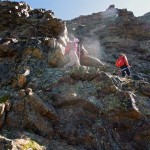 canale roccioso verso la puntina