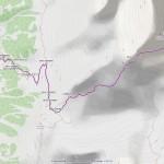 cabane tarcuit mappa itinerario