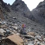 verso la piramide rocciosa