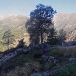 vista su becca du lac,torchè,voghel e mont nery