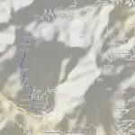 rifugio chiaromonte mappa iinerario copia