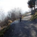 bivio del sentiero 721