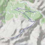 Mont Rogneux mappa itinerario