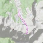 2016-04-24 - Punta Monpers mappa itinerario