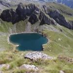 lago bringuez visto dalla punta goà